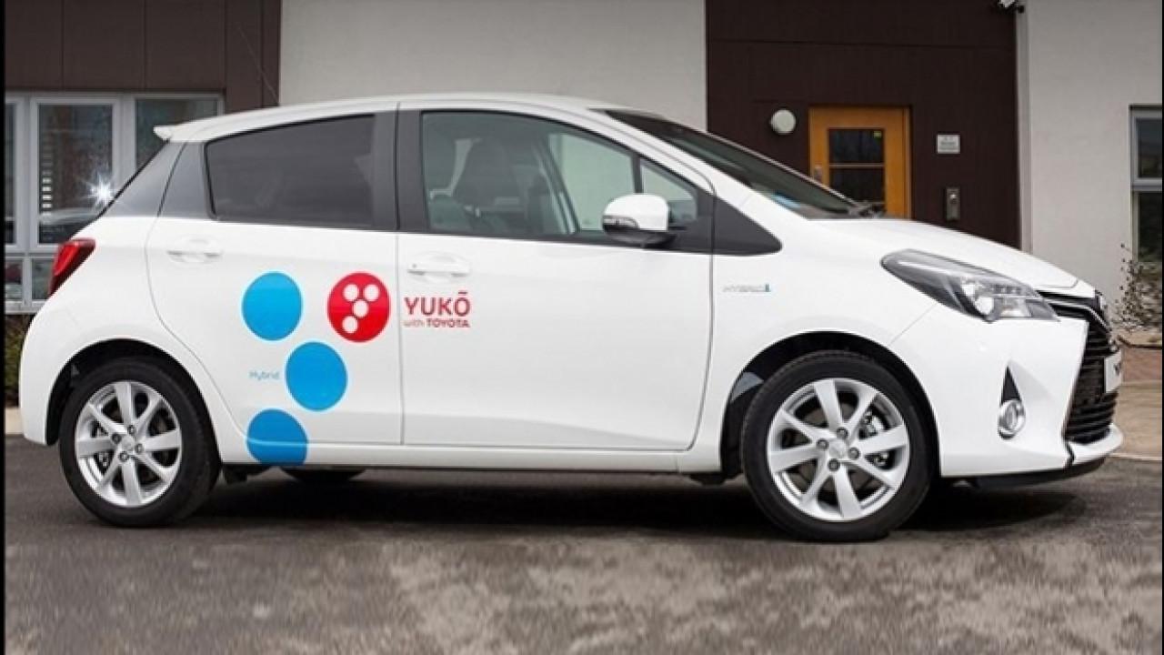 [Copertina] - Car sharing, Toyota si prepara con Yuko