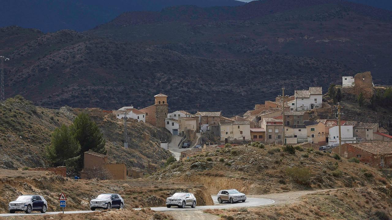 Neuer VW Touareg: Letzte Erprobung in Spanien