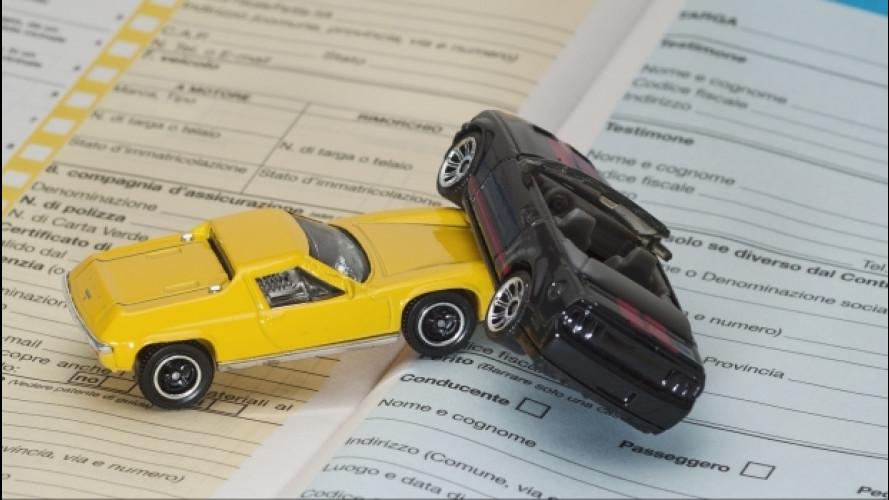 Prezzi Rc auto in calo, ma di poco