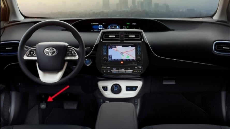 Toyota Prius, è richiamo per il freno di stazionamento