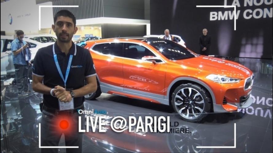 Salone di Parigi: BMW X2, tutto sul SUV-coupé più piccolo [VIDEO]