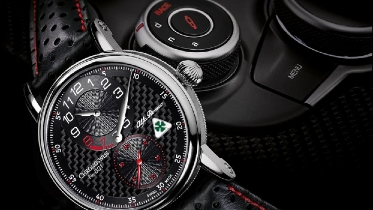 [Copertina] - Alfa Romeo Giulia, ora c'è anche l'orologio