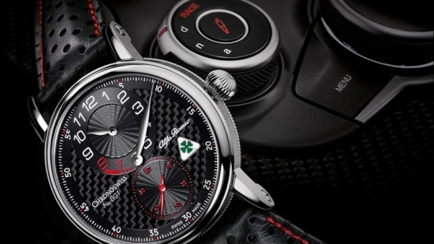 Alfa Romeo Giulia, ora c'è anche l'orologio