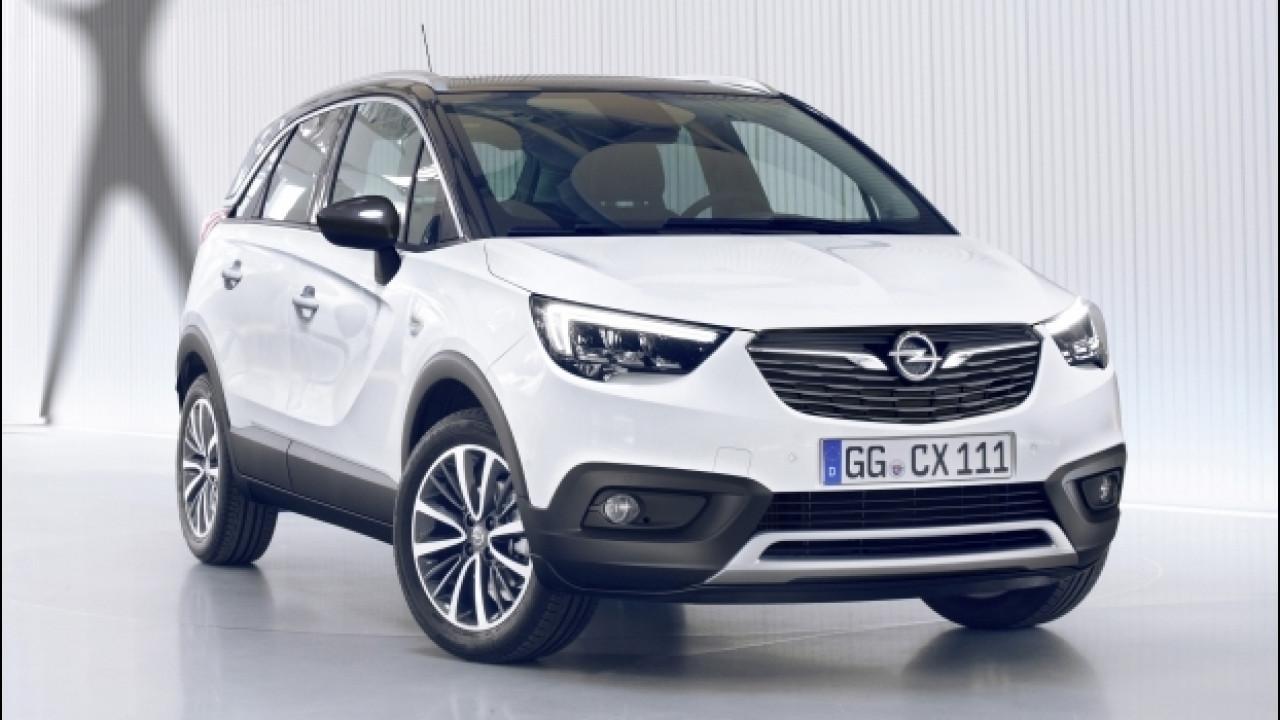 [Copertina] - Opel Crossland X, il SUV si è fatto crossover