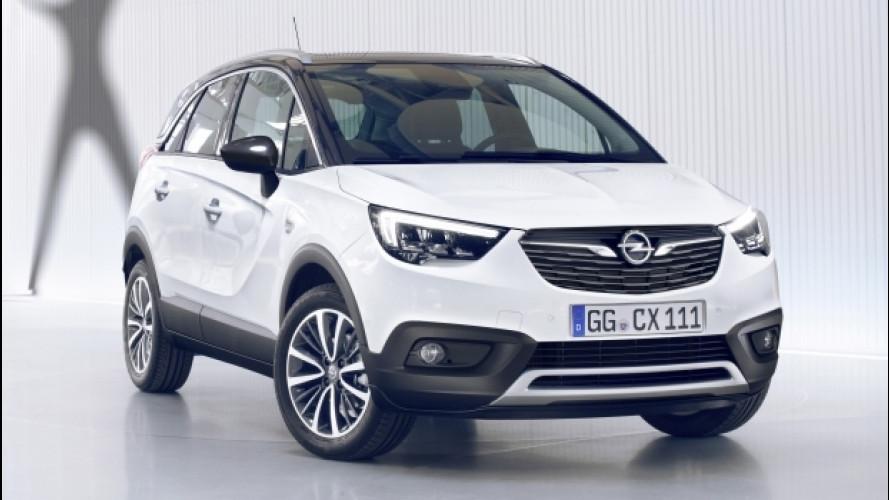 Opel Crossland X, il SUV si è fatto crossover
