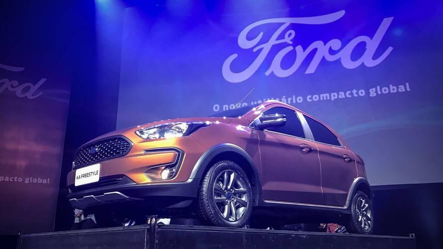 Novo Ford Ka Freestyle chega ao Brasil no segundo semestre