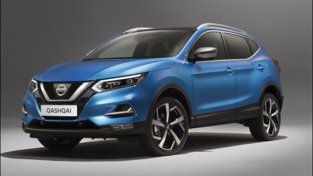 [Copertina] - Nissan Qashqai restyling, nuovo frontale e più tecnologia