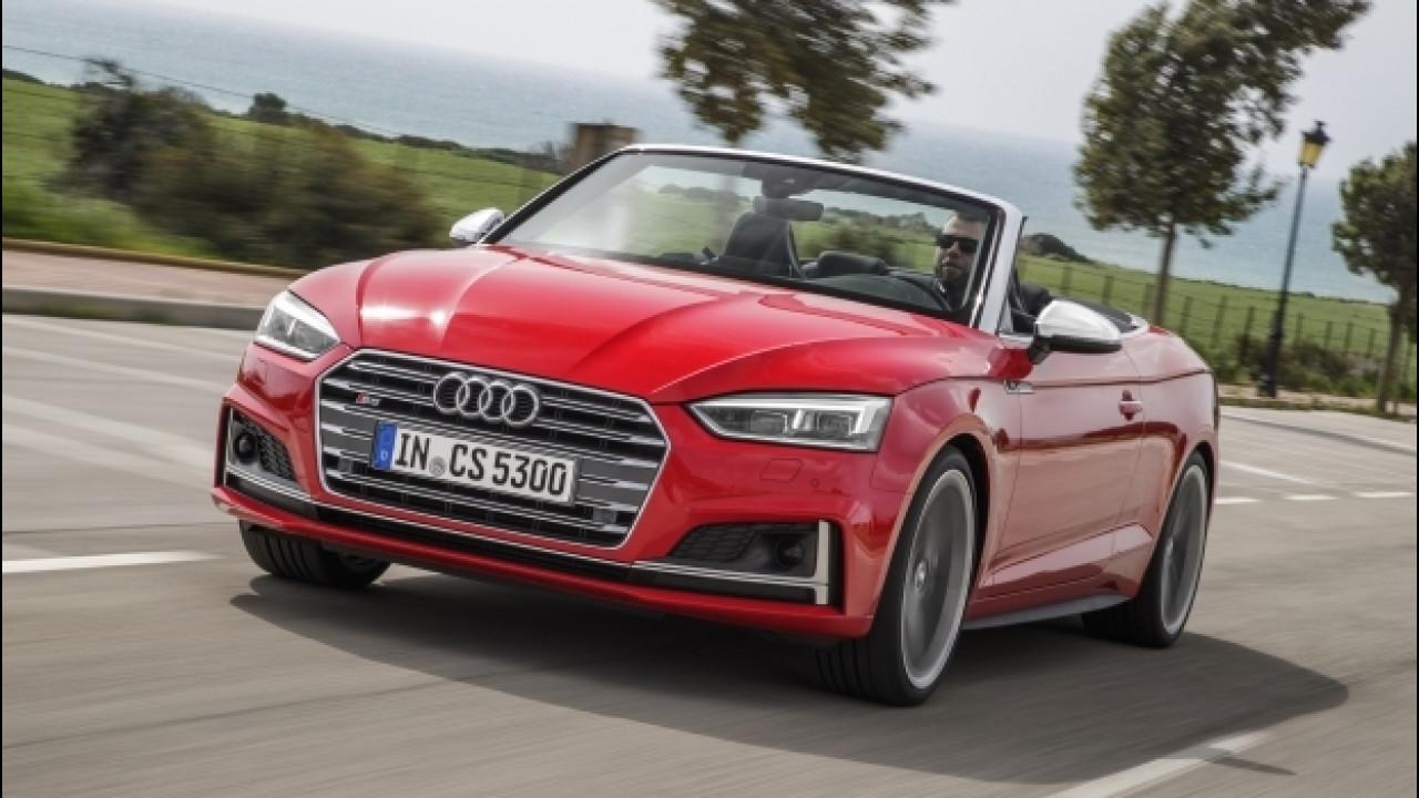 [Copertina] - Audi A5/S5 cabrio, la bella e la sportiva