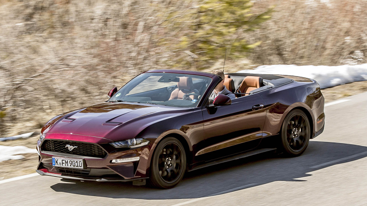 Ford Mustang Cabriolet (Facelift)