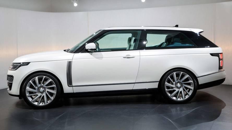 2018 Range Rover SV Coupe Geneva