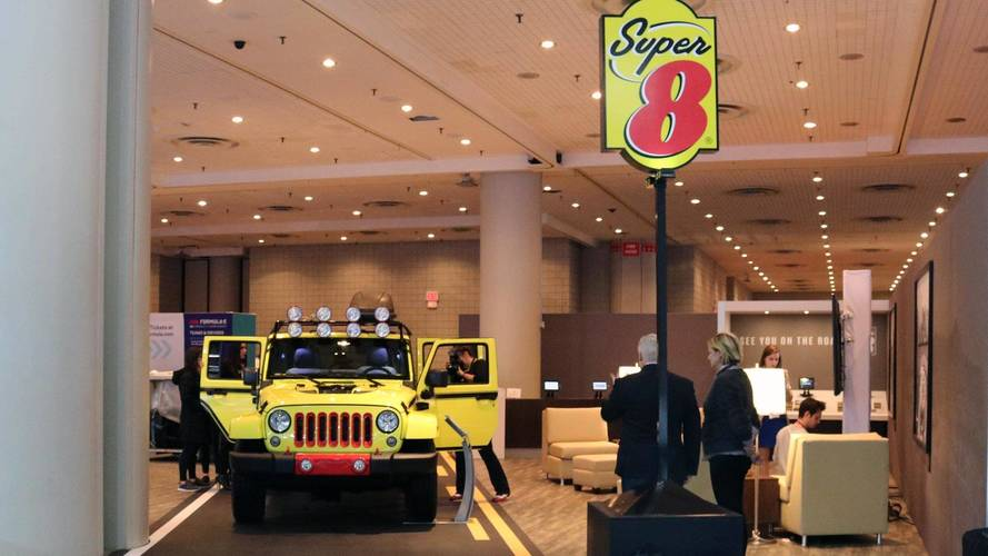 RoadM8 Super 8 Jeep Wrangler At New York Auto Show