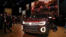 Volkswagen Atlas Tanoak Concept at the 2018 New York Auto Show