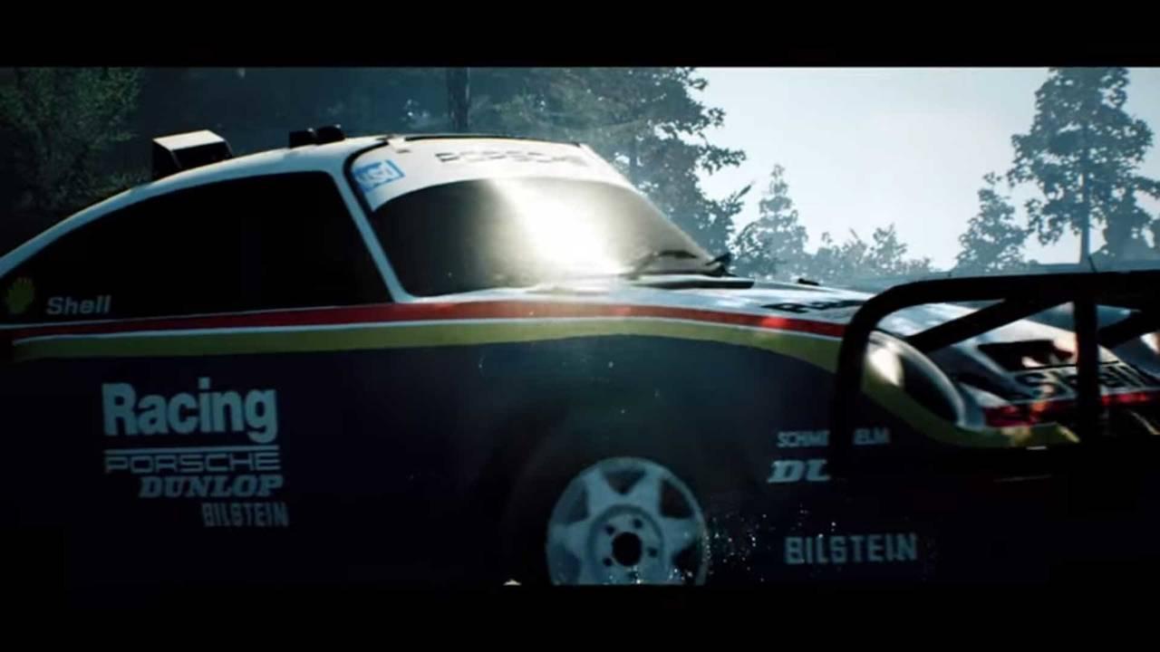 Porsche 959 In Gravel