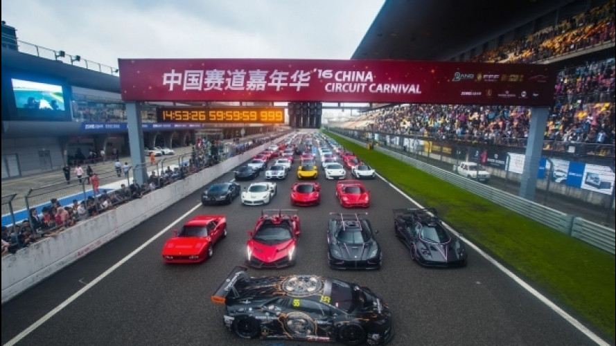 Hypercar, il raduno più grande di sempre al circuito di Shanghai [VIDEO]