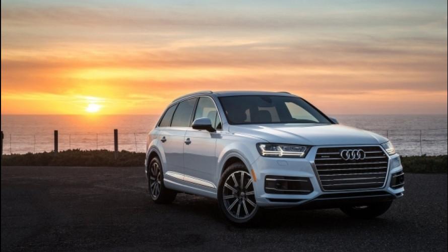 Audi Q7 benzina, ora anche il due litri