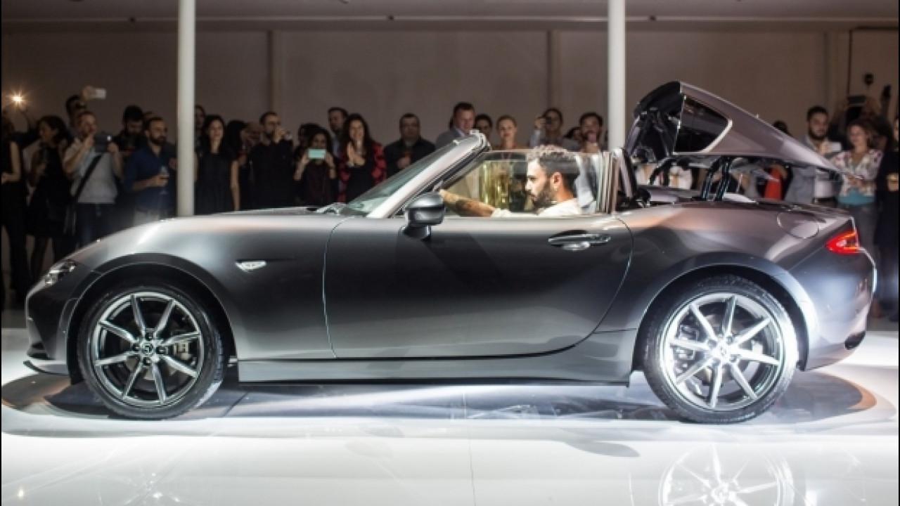 [Copertina] - Mazda, una festa per la presentazione italiana della MX-5 RF
