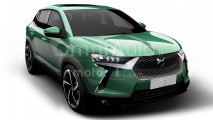 DS 3 Crossback, il rendering