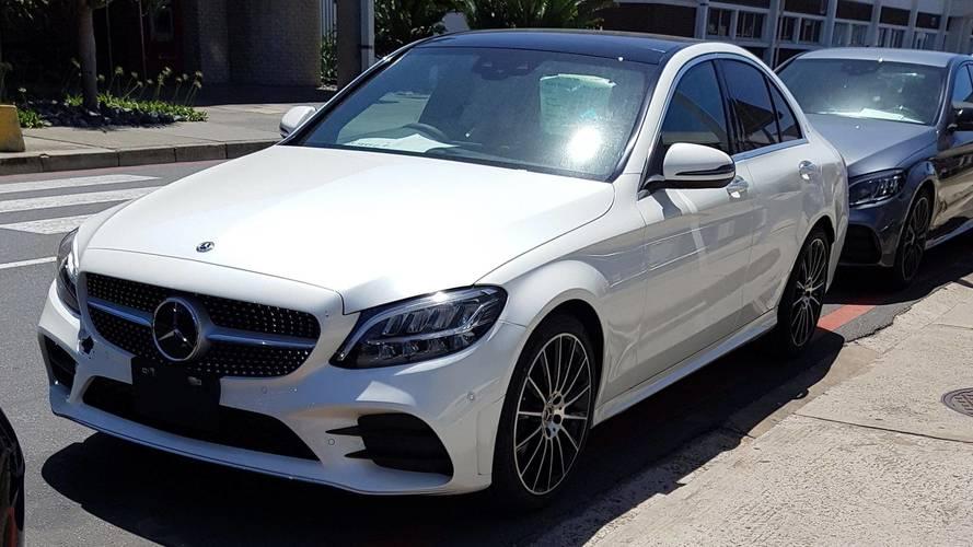 Mercedes-Benz C43 Fabrikadan Casus Fotoğraflar