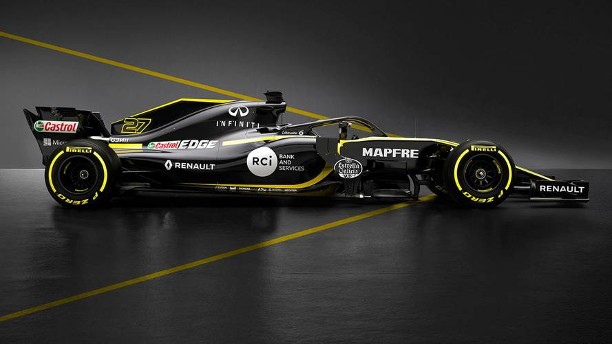 Renault F1 Team RS18, temporada 2018