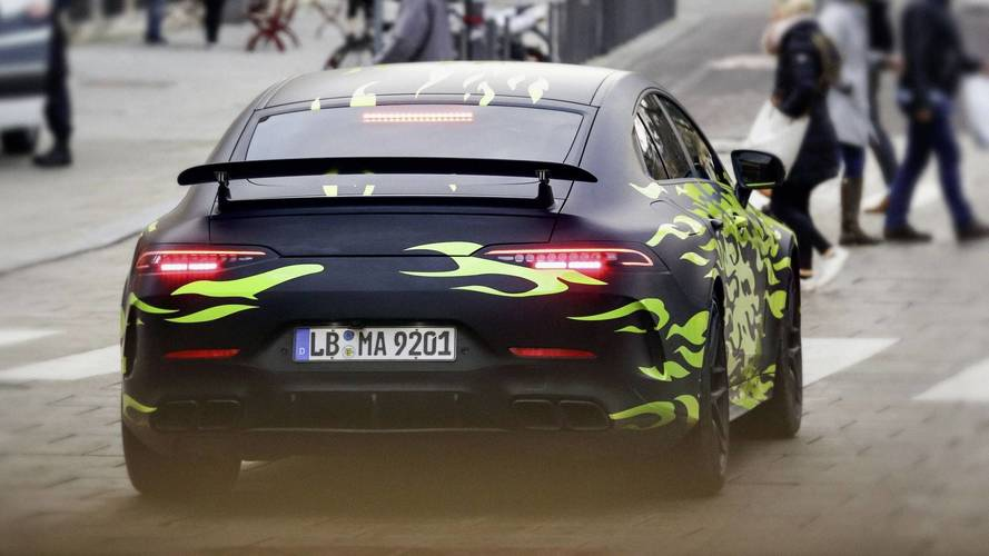 Mercedes-AMG GT Berline nouveau teaser