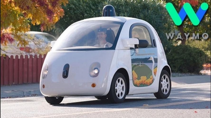 Guida autonoma, quella di Google si chiama Waymo