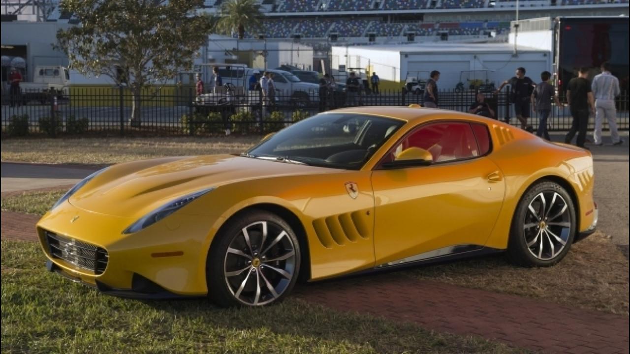 [Copertina] - Ferrari, consegnato l'esemplare unico di SP275 RW Competizione