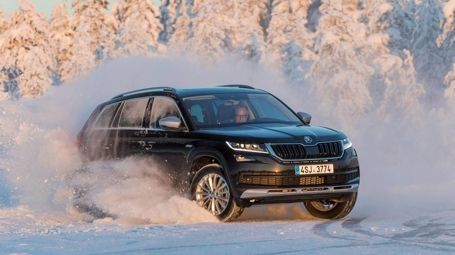 Essai Škoda – La gamme quatre roues motrices à l'épreuve de la Laponie