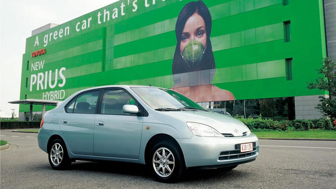 Toyota Prius (1997): der Hybrid-Pionier