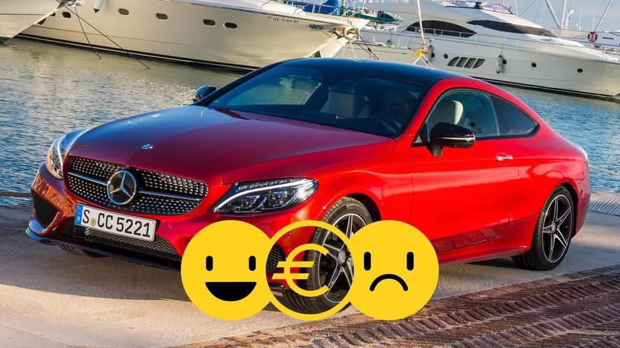 Promozione Mercedes Classe C Coupé, perché conviene e perché no