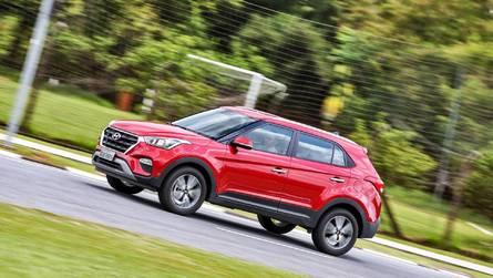 Hyundai Creta ultrapassa HR-V para liderar entre SUVs compactos - veja as parciais de dezembro