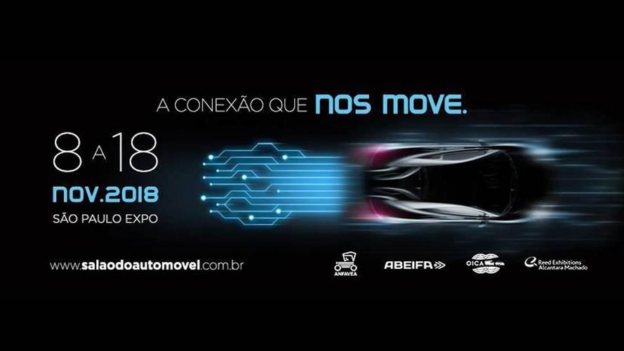 Salão do Automóvel de São Paulo 2018 acontecerá entre 8 e 18 de novembro