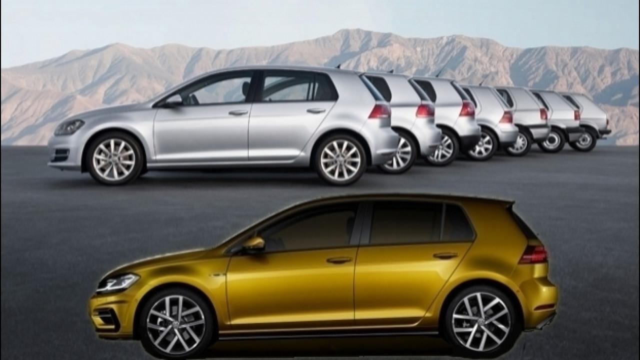 [Copertina] - Volkswagen Golf, l'auto che