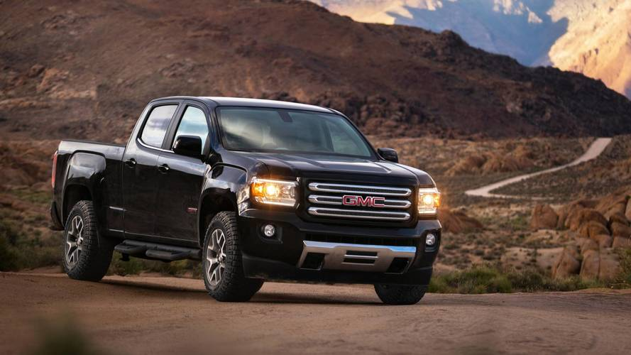 8. Compact/Midsize Pickup Trucks: GMC Canyon