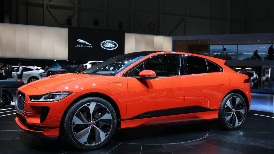 Jaguar I-Pace Live From Geneva Motor Show