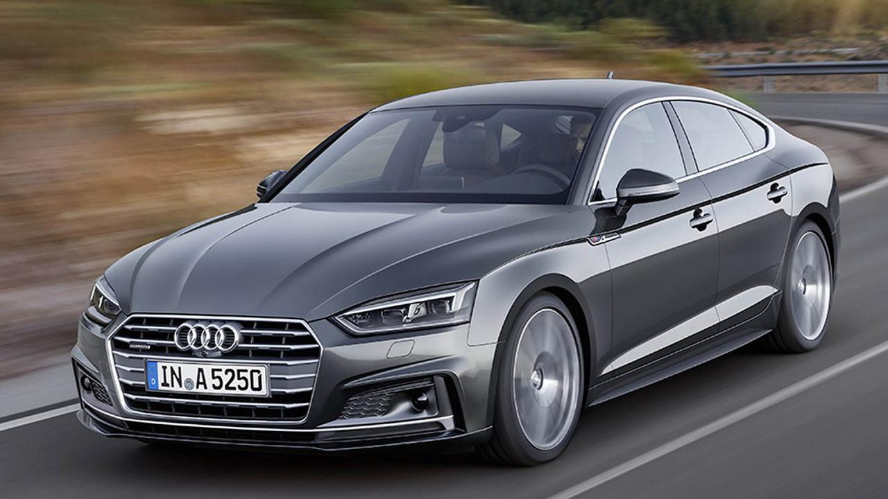 Coupé-Limousinen: Audi A5 Sportback