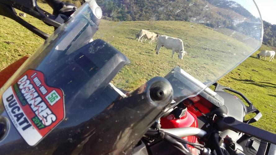 Rally turístico Dos Mares de Ducati España