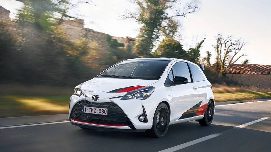 Toyota Yaris GRMN'in azami hızına ulaşmasını izleyin