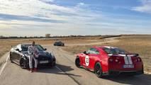 Nissan GT-R y Marc Gené en el INTA