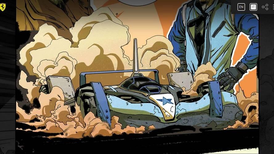 Ferrari pubblica un fumetto sul mondo delle corse