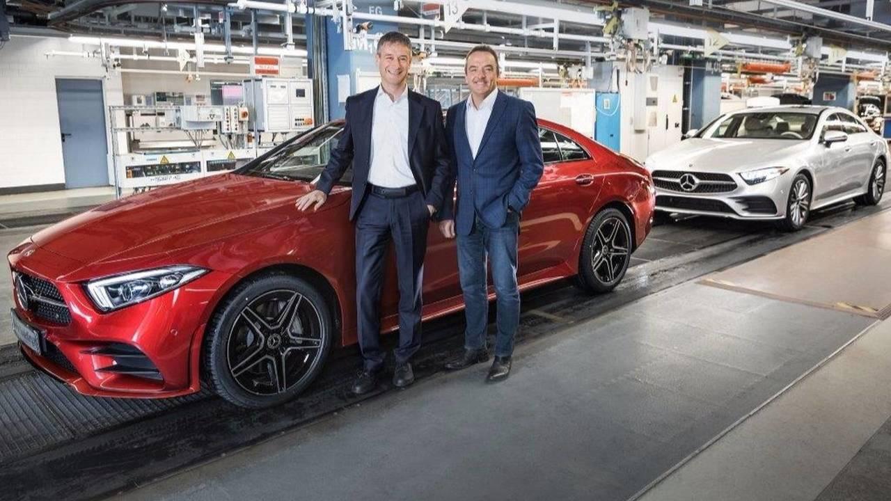 Production Mercedes CLS
