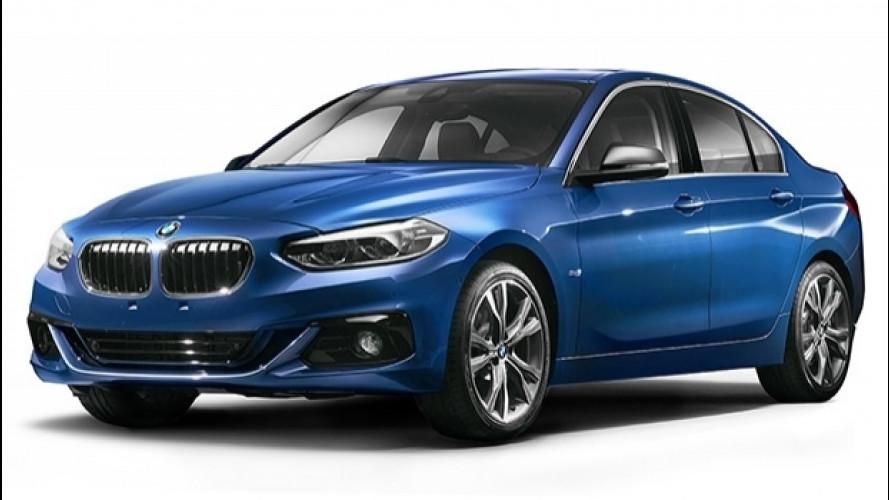 BMW Serie 1 Sedan, la berlina per la Cina