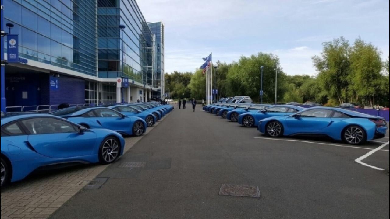 [Copertina] - BMW i8, 19 supercar per i campioni del Leicester