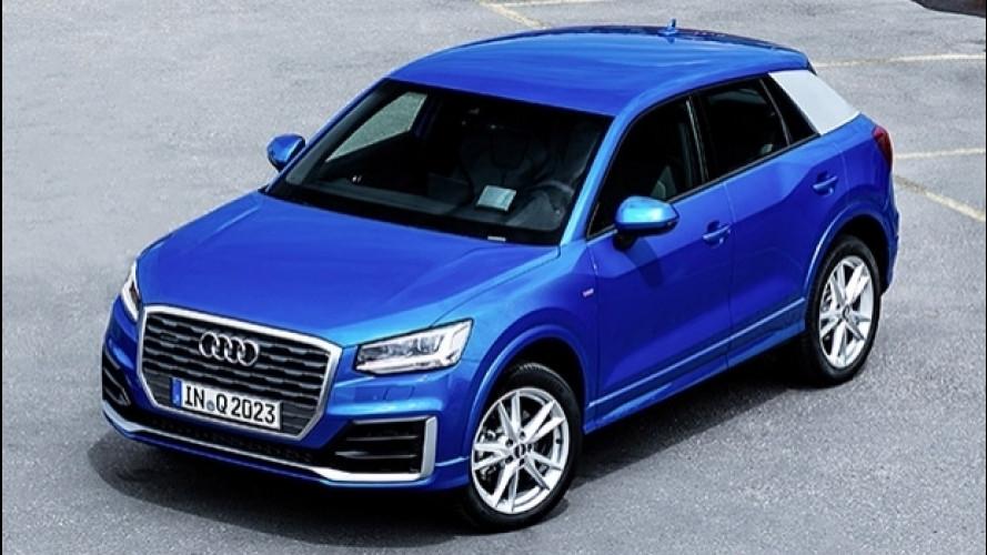 Audi Q2, tutti i prezzi italiani
