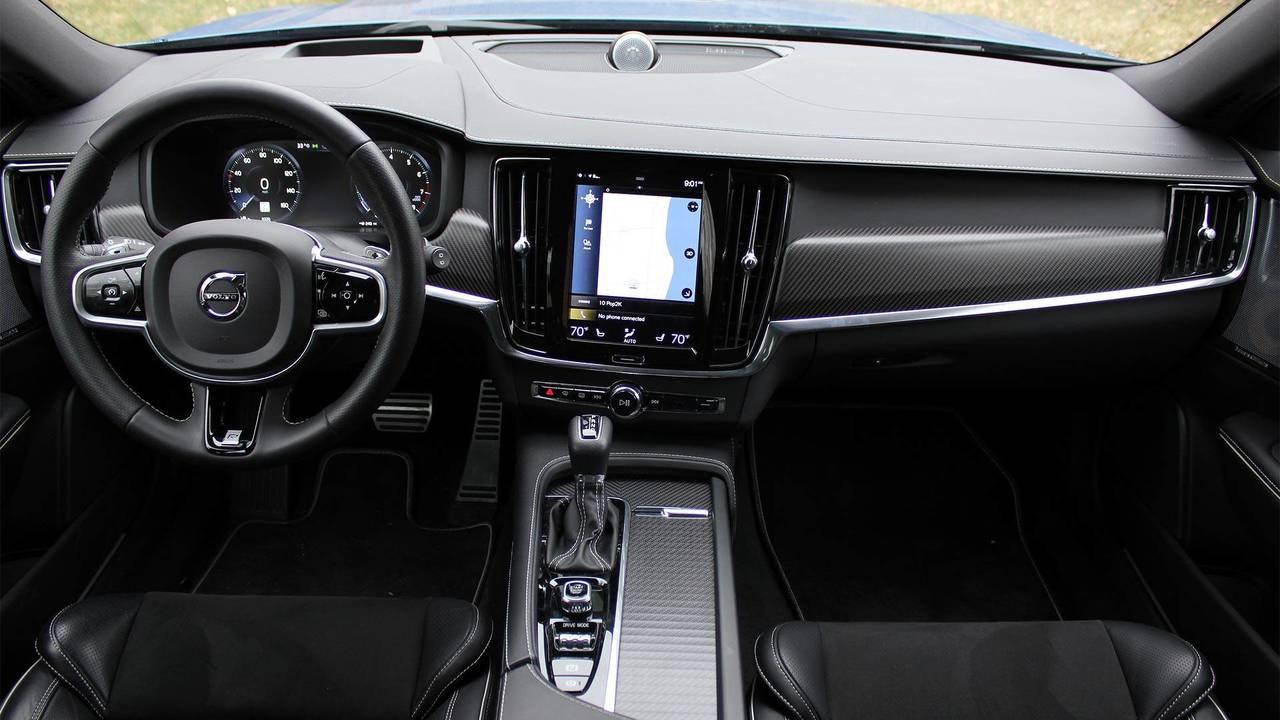2018 Volvo V90 interior | Motor1.com Photos