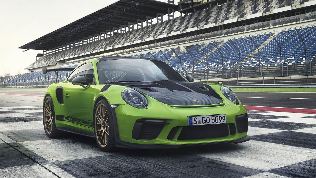 Porsche 911 GT3 RS: Weissach-Paket