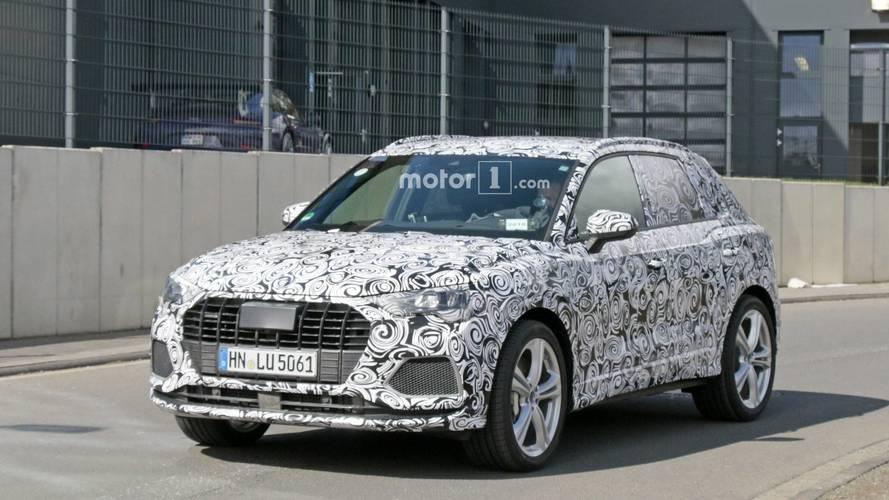 2020 Audi SQ3 spy photo