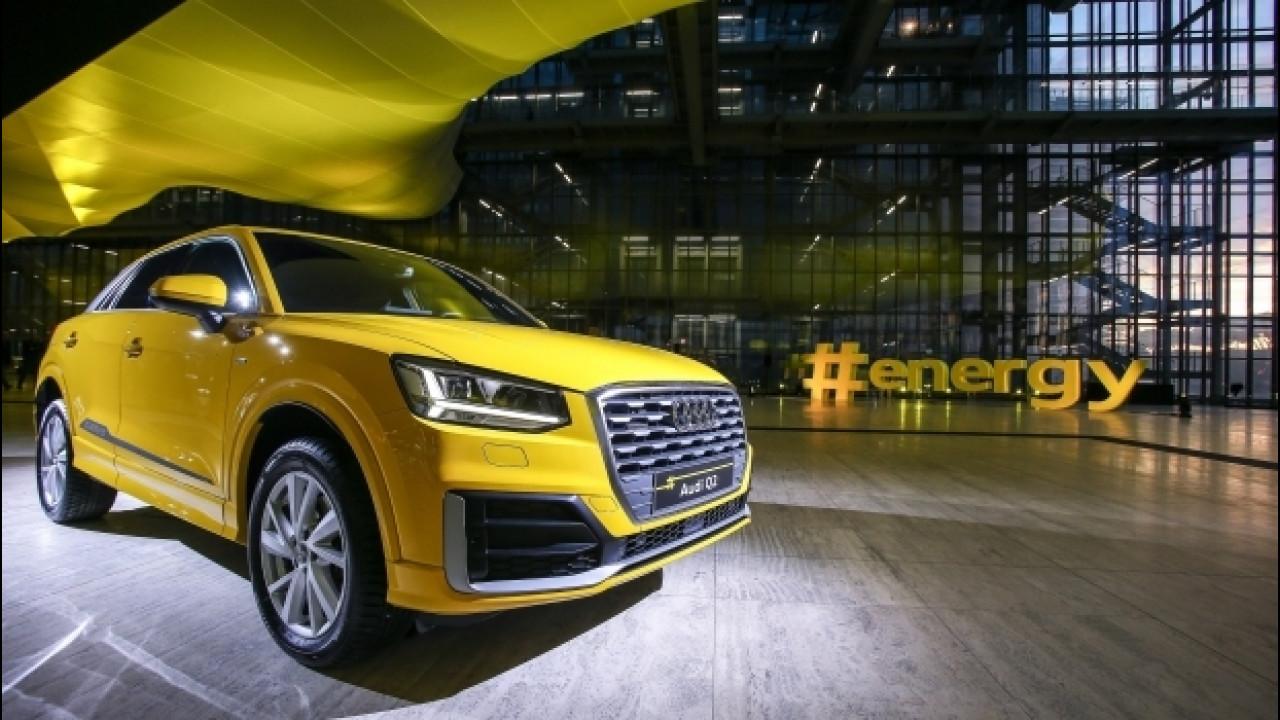 [Copertina] - Audi Q2 #untaggable, presentazione in grande nella Nuvola di Fuksas [VIDEO]