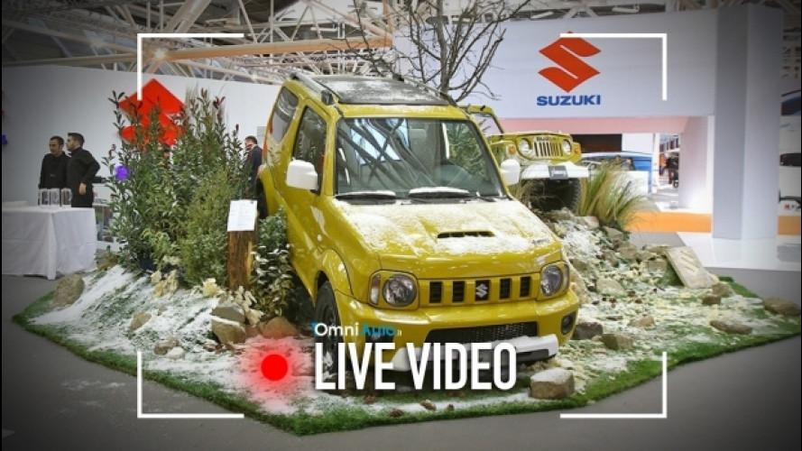 Motor Show di Bologna, Suzuki punta sulle 4X4 [VIDEO]
