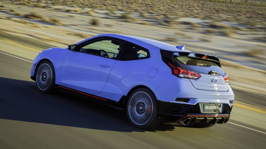 2019 Hyundai Veloster N Coming To U S  With 275 HP