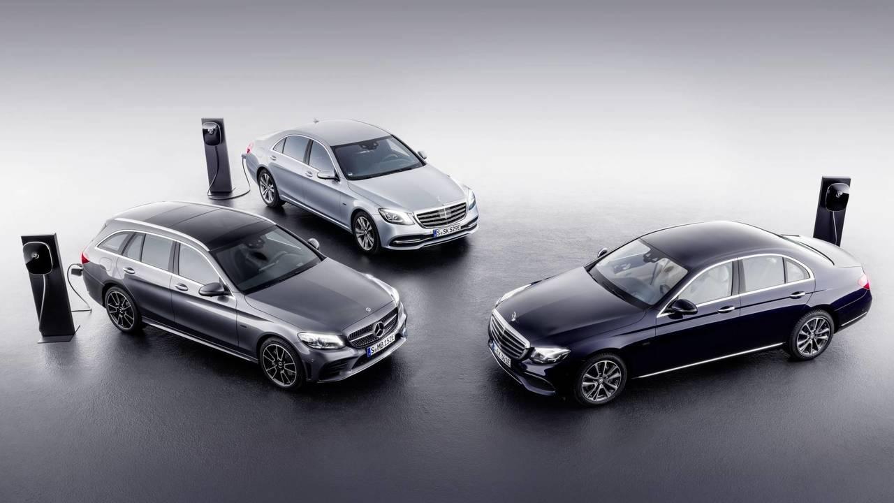 Mercedes EQ Power, ibrido plug-in diesel al debutto